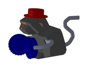 快樂敲鑼猴
