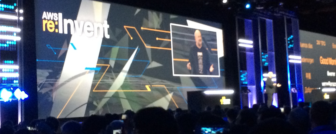 Keynote(基調講演) Day2 – AWS re:Invent 2014 参加レポート #5