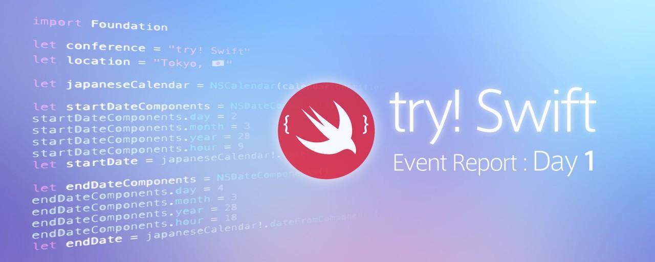 世界中の著名エンジニアから学ぶ最新のSwift事情/try! Swift参加レポート Day1