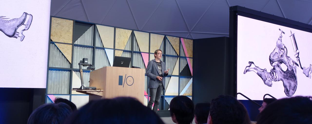[Google I/O 2016] Machine learning & art ~ 機械学習が芸術の領域に踏み込む?