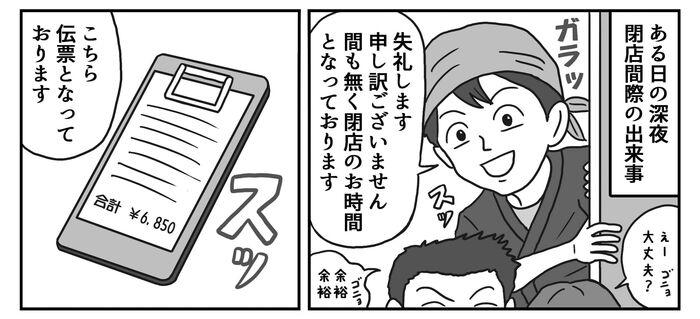 New manga izakaya 3 min
