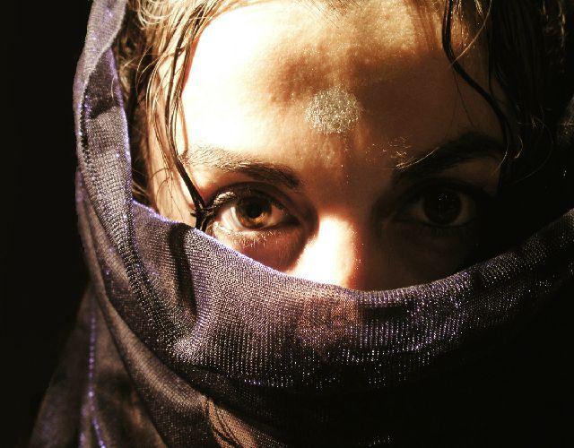 New stockvault arab woman with veil130882