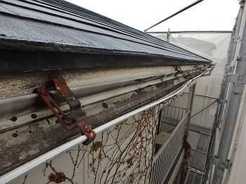 雨樋金具の破損
