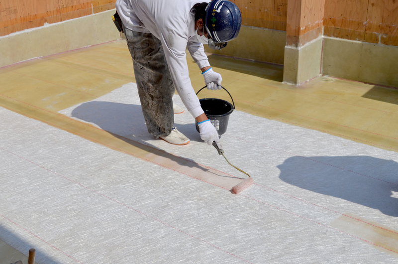 塗膜防水工事