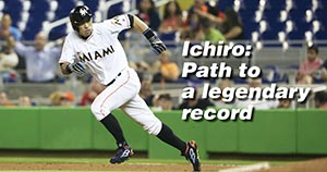 ICHIRO: Path to a legendary record