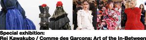 Special exhibition: Rei Kawakubo / Comme des Garcons: Art of the In-Between