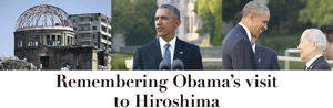 Remembering Obama's visit to Hiroshima