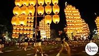 Akita Kanto Festival begins