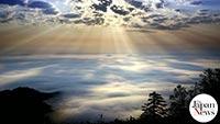 Heavenly sea of clouds