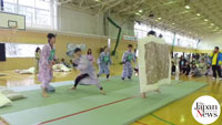 New Japan, Old Japan / Pillow fights evolve into serious sport