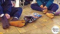 Tabi socks help kids put their best foot forward
