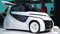 EV, AI self-driving prototypes shown at Tokyo