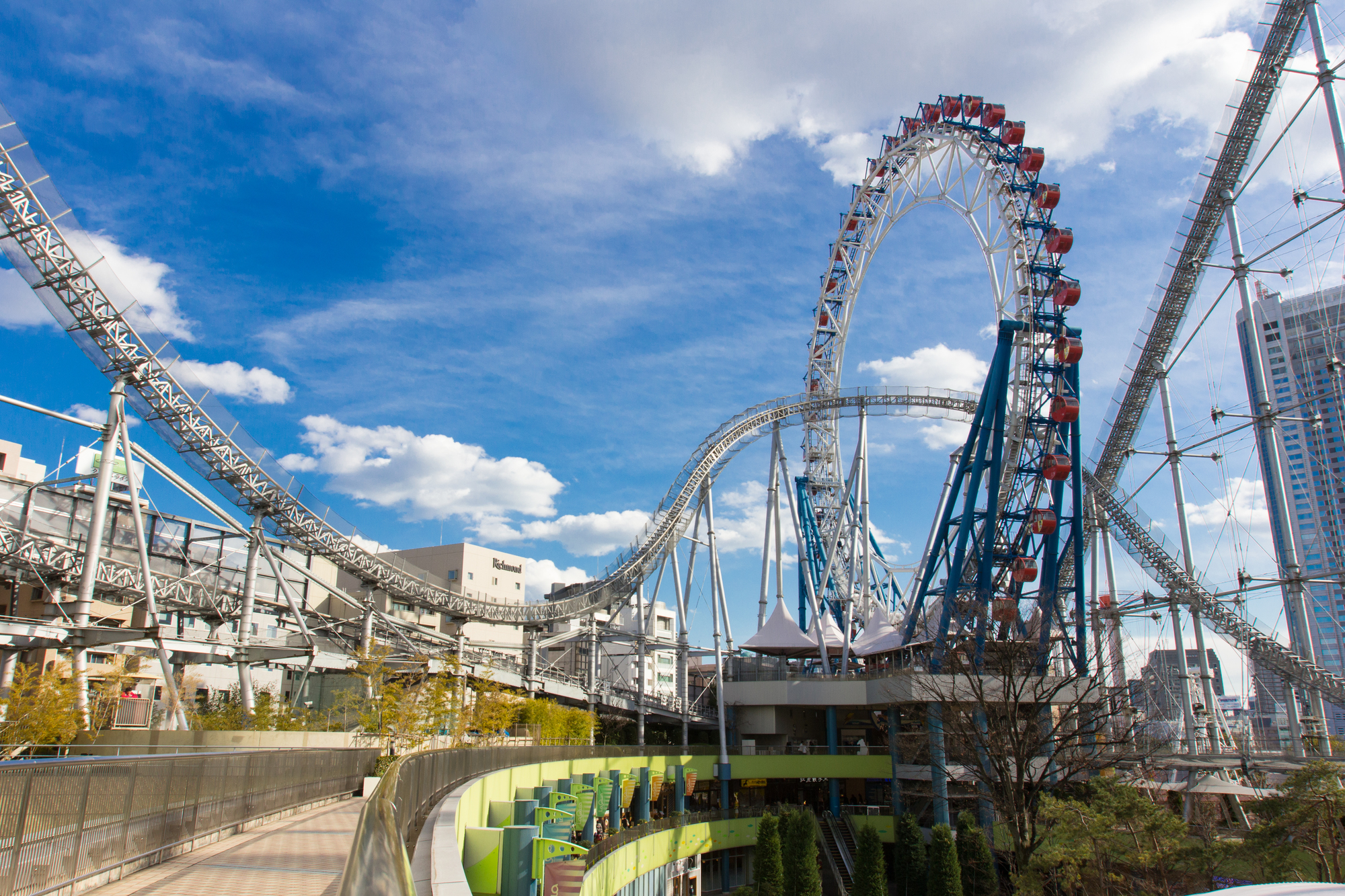 TOKYO DOME CITY and its Roller Coasters