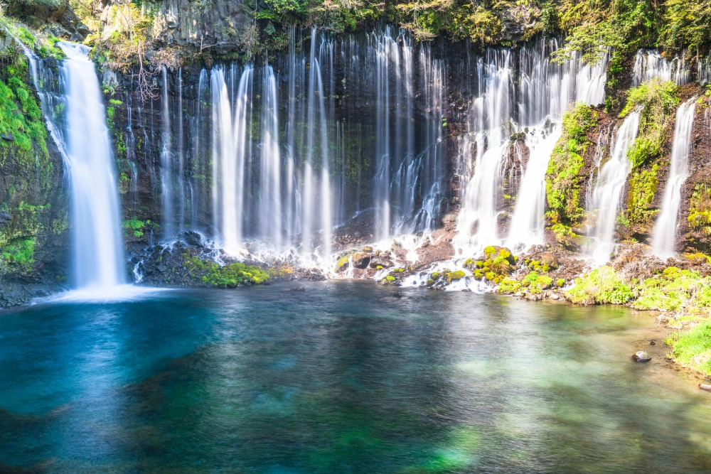 Shiraito Falls: Experience the Sacred Waterfalls below Mount Fuji|THE GATE|Japan Travel Magazine: Find Tourism & Travel Info