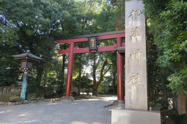 Nezu Shrine Torii Gate Exterior