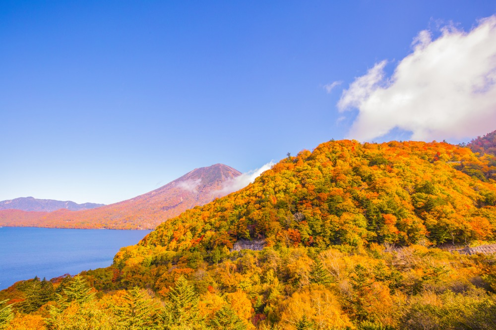 Lake Chuzenji during the fall
