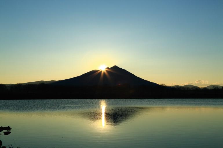Sunset at Mount Tsukuba