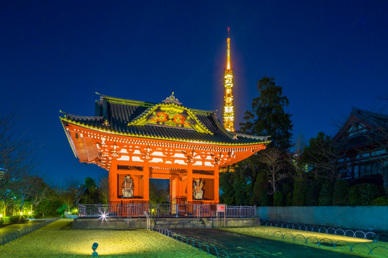 Zojoji Temple The 600 Year Old Temple Under Tokyo Tower The Gate Japan Travel Magazine Find Tourism Travel Info