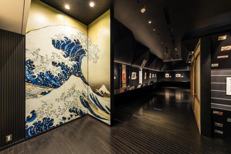 Exterior of Sumida Hokusai Museum