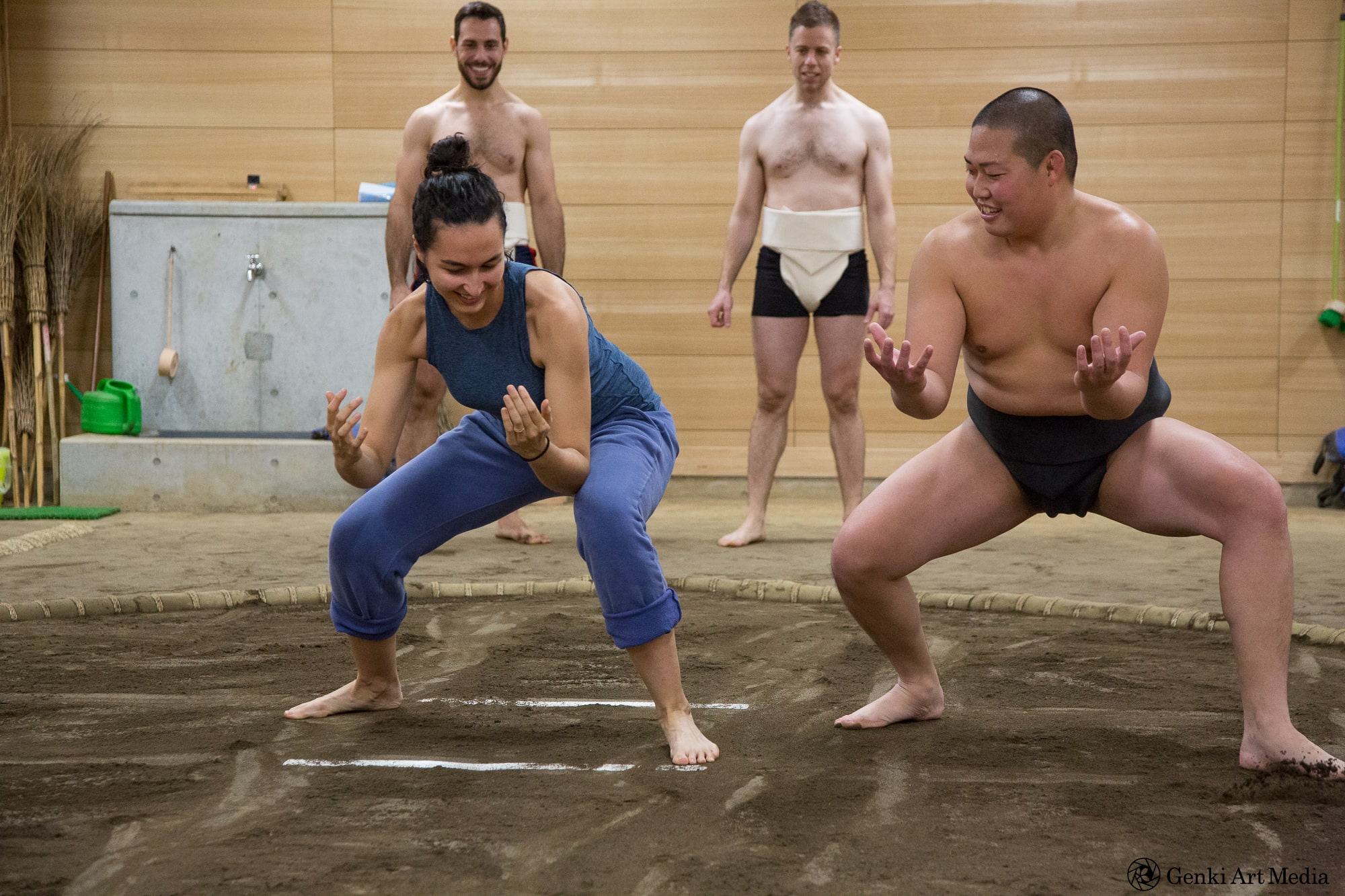 東京/三鷹/相撲】元大相撲力士と土俵で相撲体験! THE GATE 日本の ...