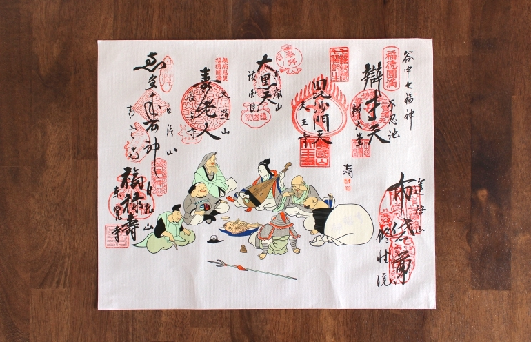 Fukue, the picture of the 7 Lucky Gods
