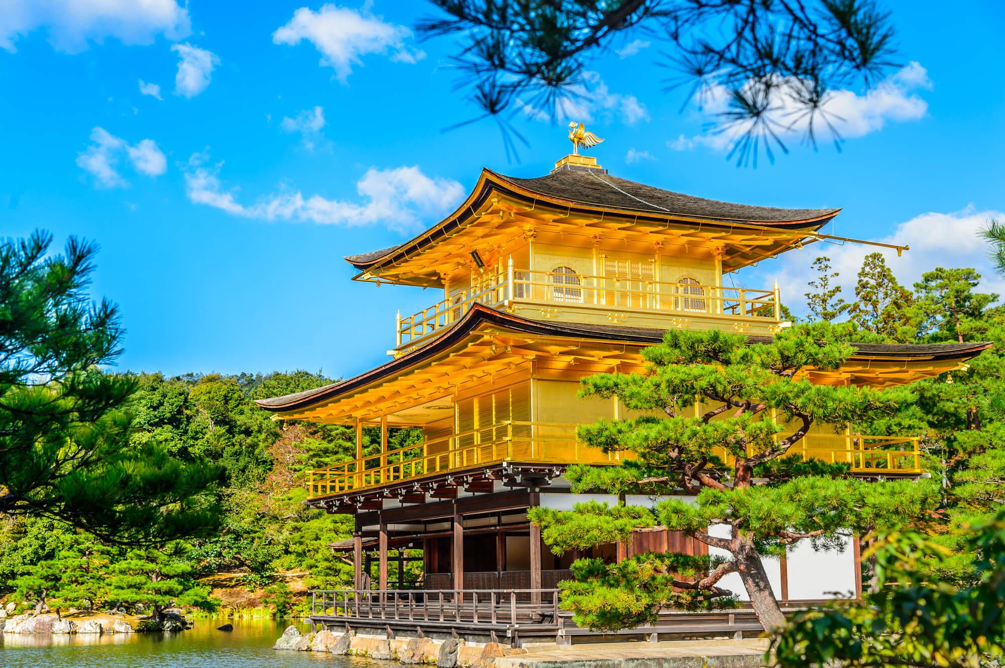 金閣寺の外観