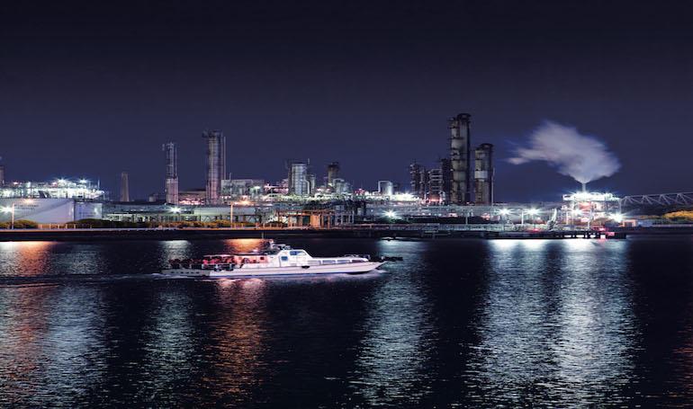 Yokkaichi Port Night Cruise ship
