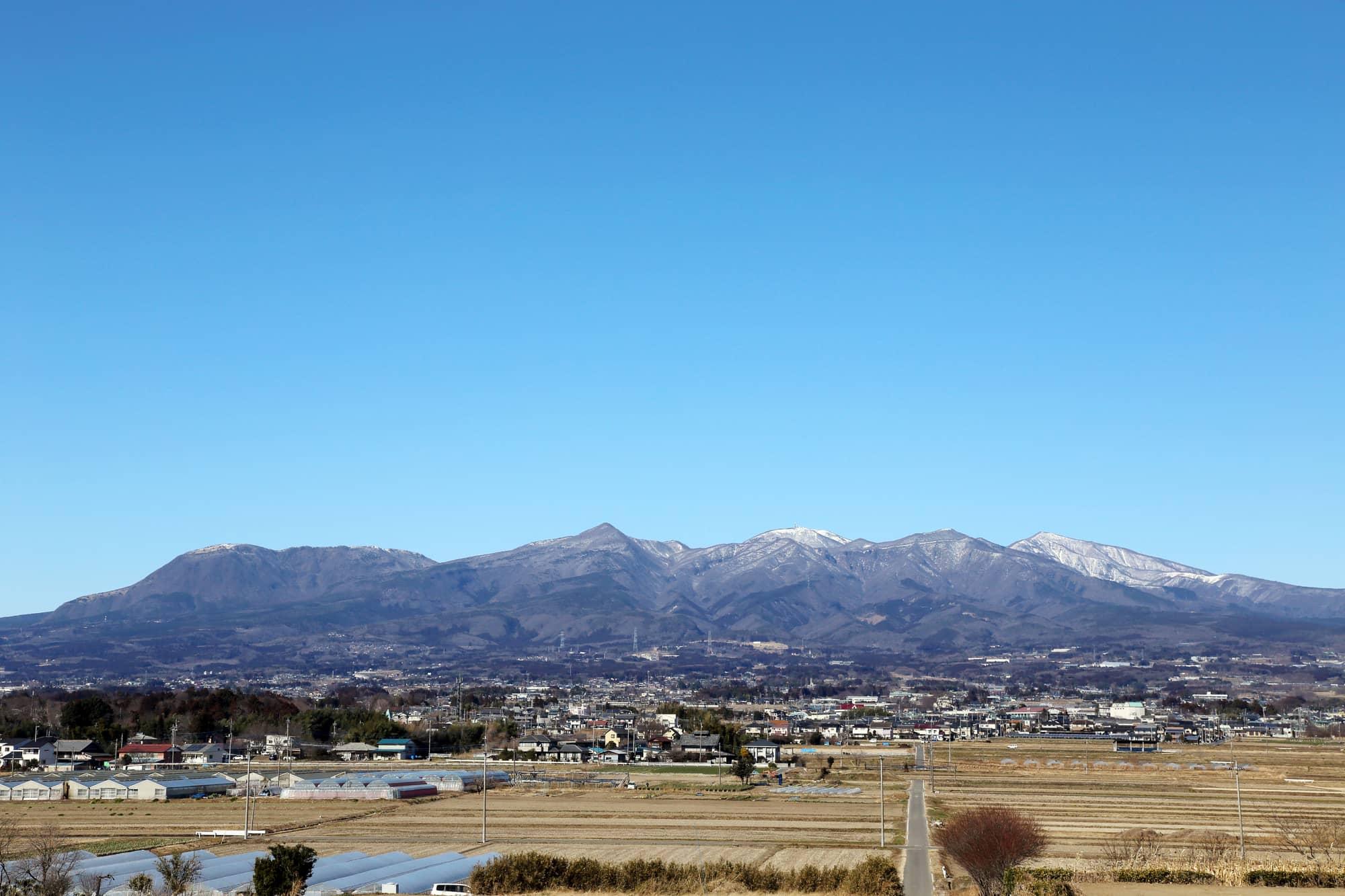 Pemandangan Gunung Akagi