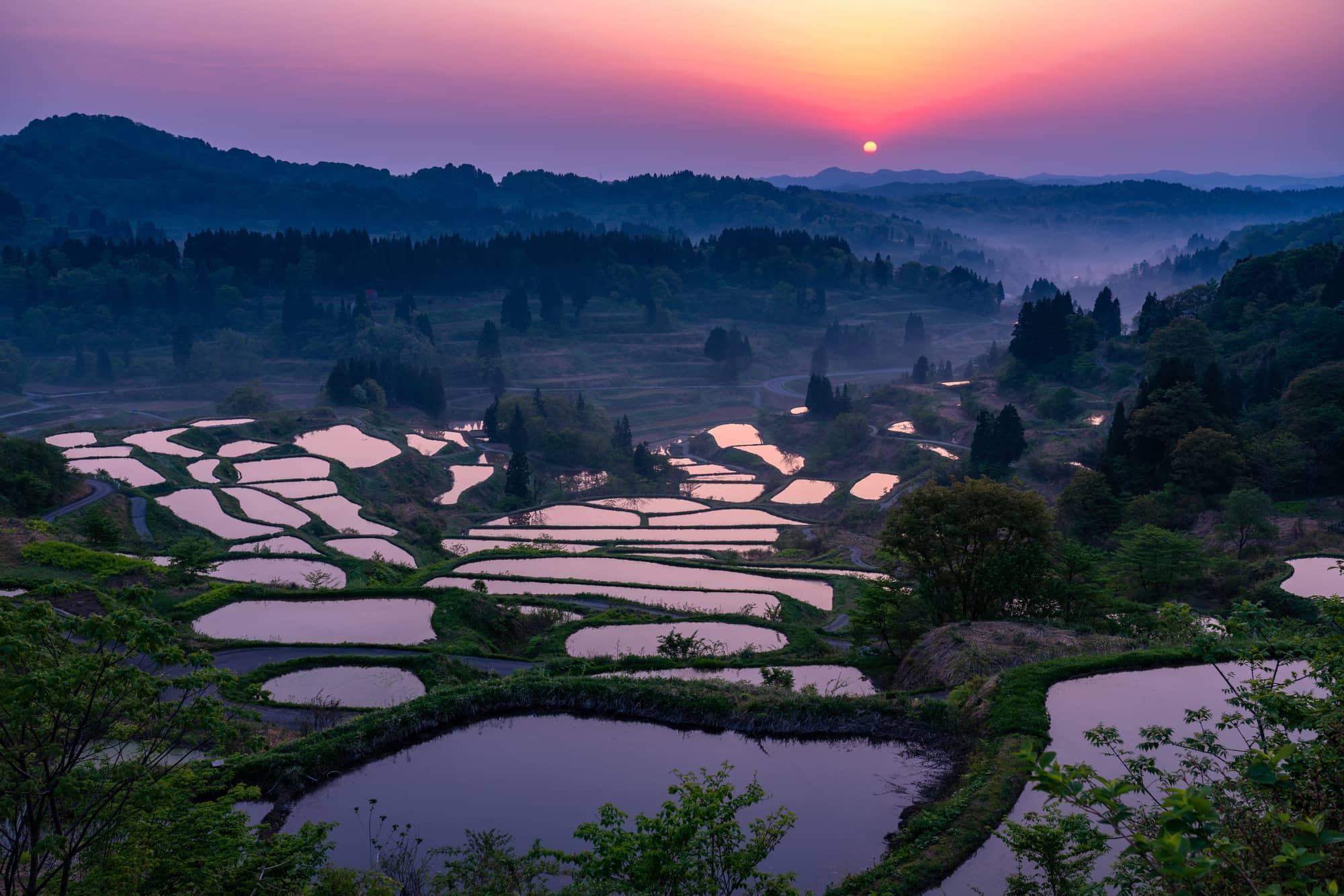 星峠の棚田】で日本ならではの絶景を楽しもう!|THE GATE|日本の旅行 ...