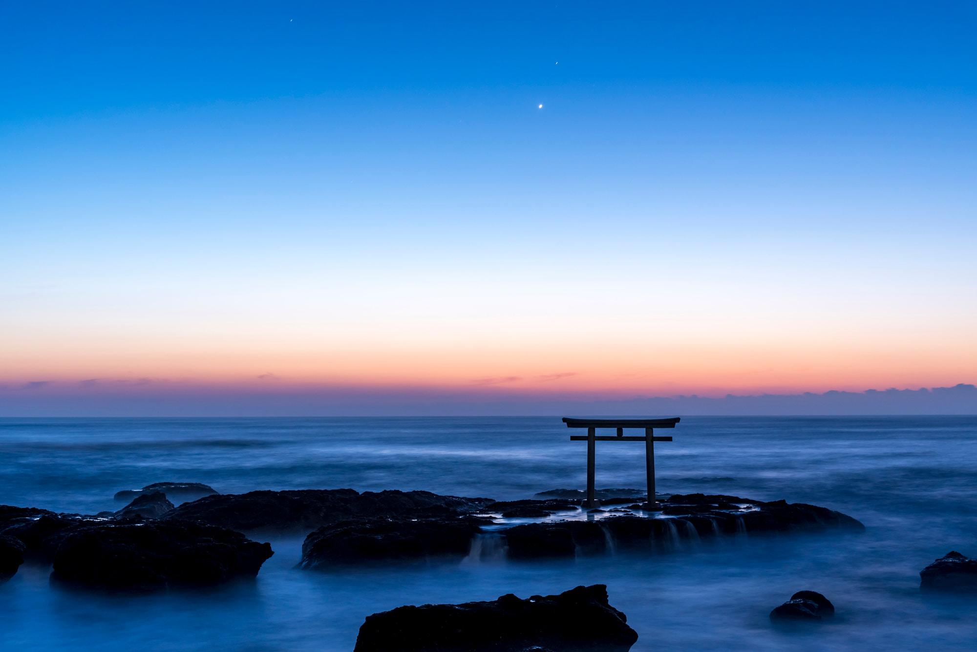 Oarai Isosaki-jinja Shrine Torii Gate
