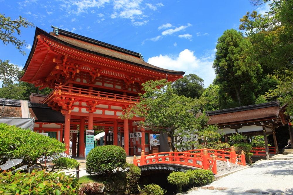 上贺茂神社的楼门