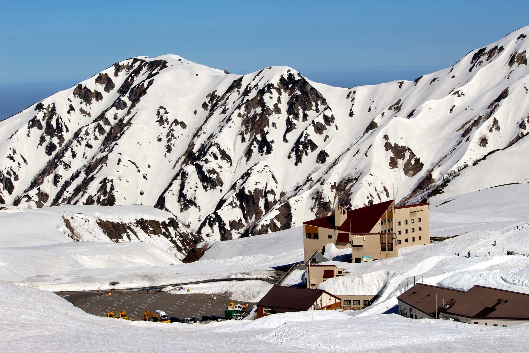 立山飯店的外觀