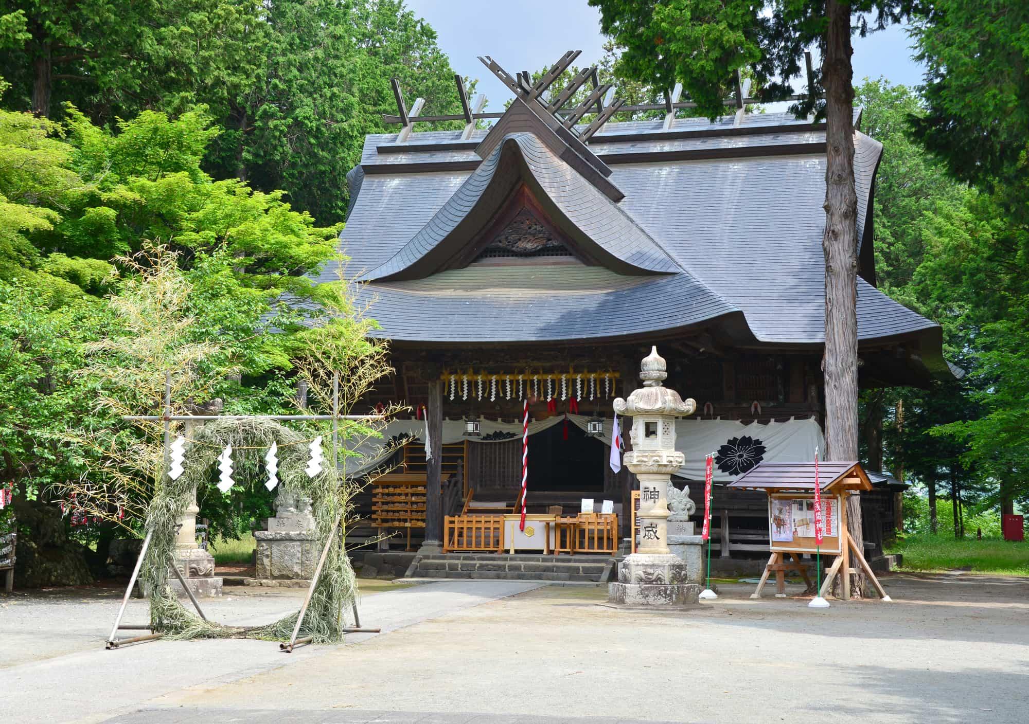 富士御室浅間神社の外観