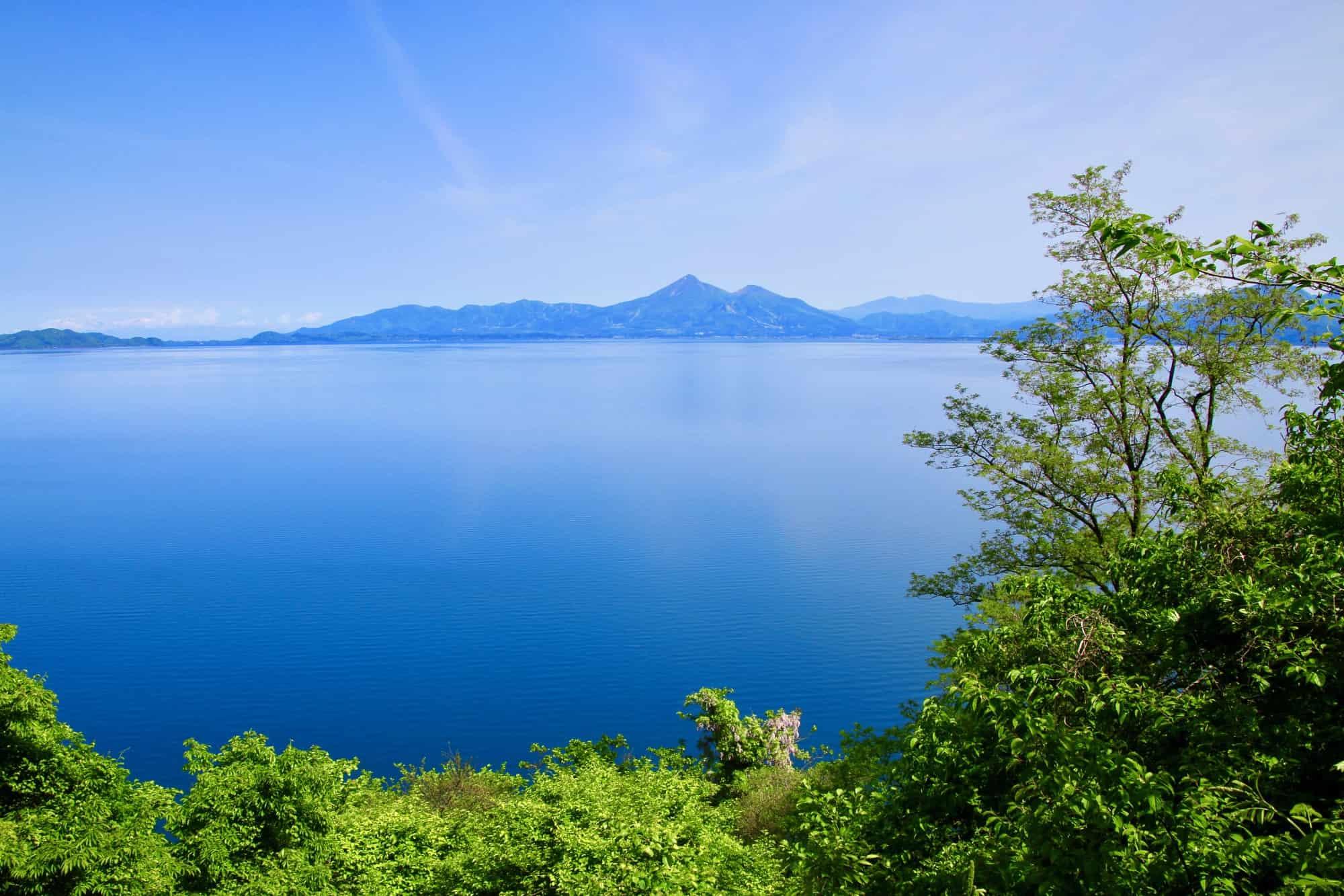 Lake Inawashiro and Mount Bandai