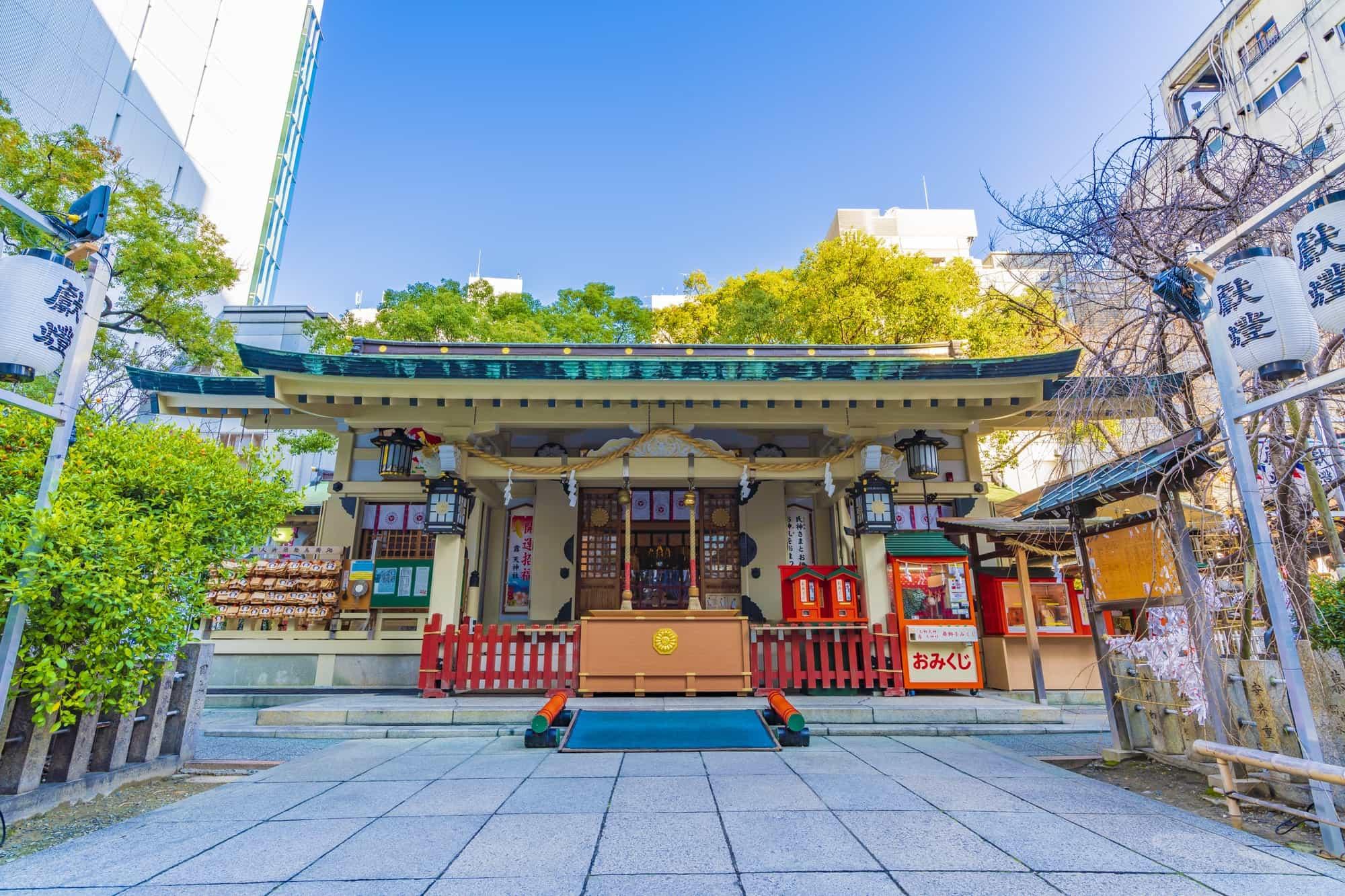 露天神社(御初天神)