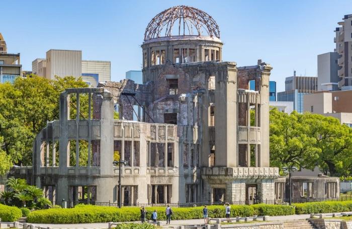 原爆ドームの外観