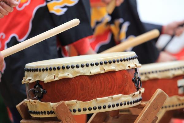 祭典中所使用的平太鼓
