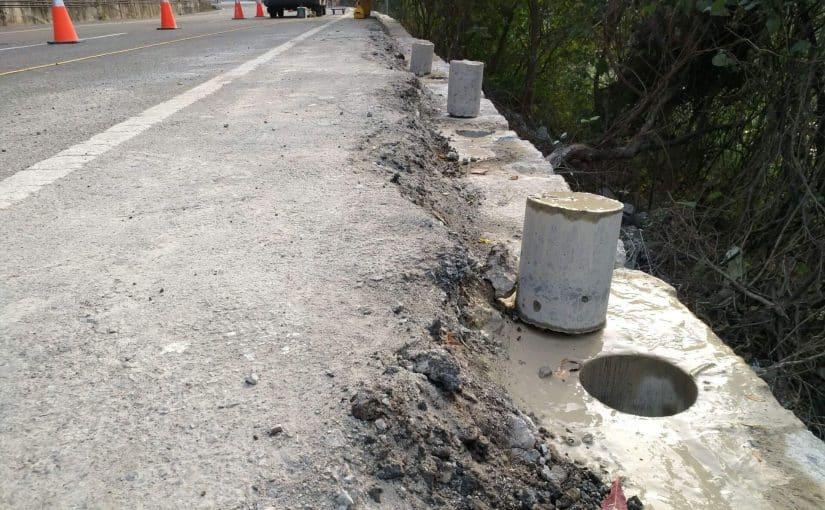 道路護欄鑽孔工程