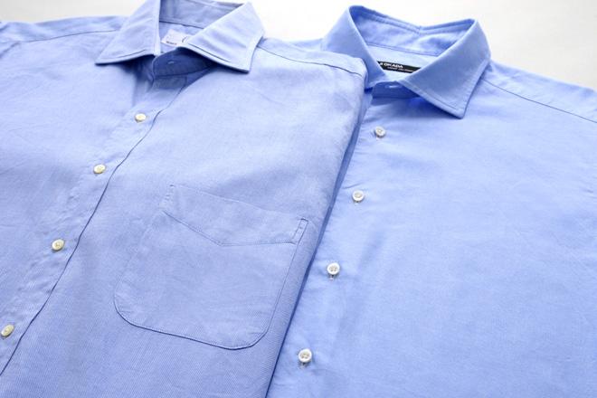 胸ポケット付きのシャツ→実はカジュアル