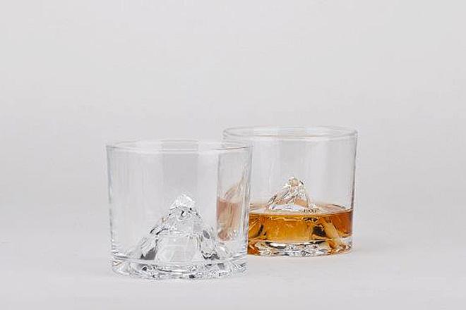 グラスの中に臨む、マッターホルン