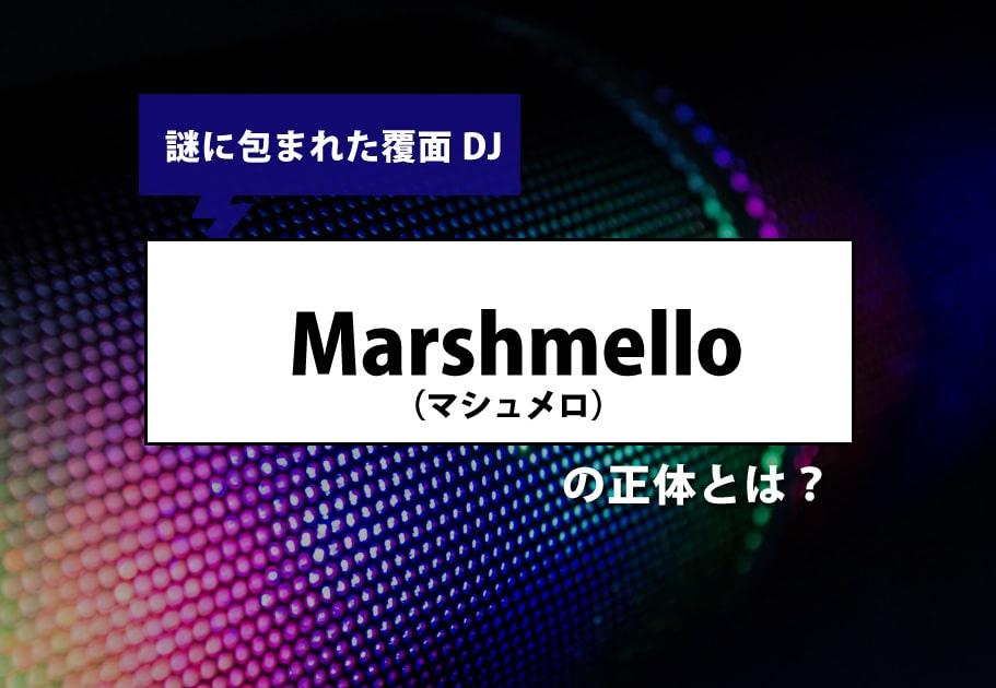謎に包まれた覆面DJ  Marshmello(マシュメロ)の正体とは?