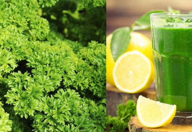 レモンとパセリのオーガニックジュースのつくり方!ダイエット効果も期待できる?