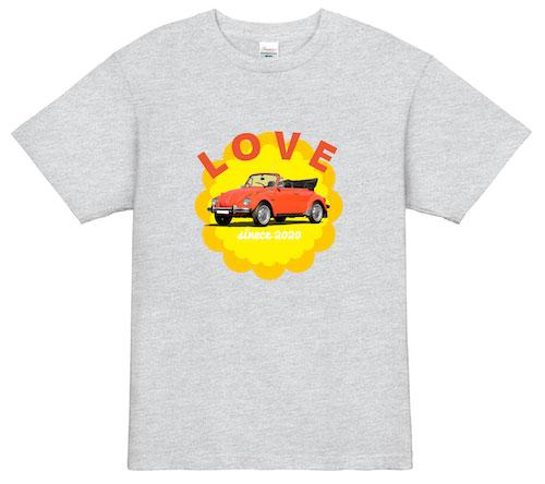 LOVE CAR Tシャツ