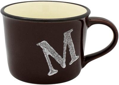 tinbre イニシャルマグカップ