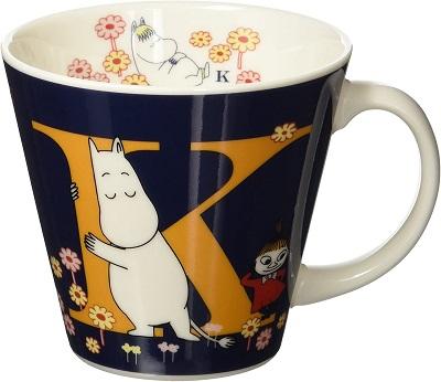ムーミン イニシャルマグカップ