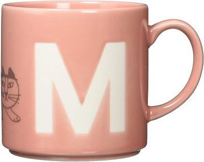 リサ ラーソン イニシャルマグカップ