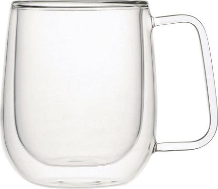 iwakiの耐熱ガラスAirマグカップ