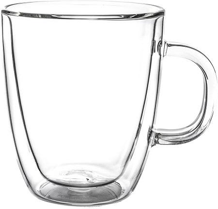 ボダム ビストロ ダブルウォールグラス 2個セット