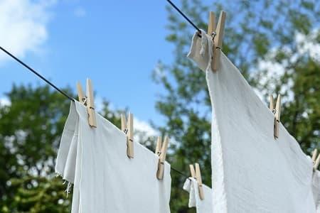 タオルの乾かし方