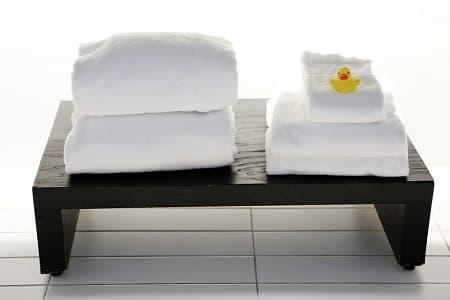 タオルの嫌な匂いにはつけ置き洗い